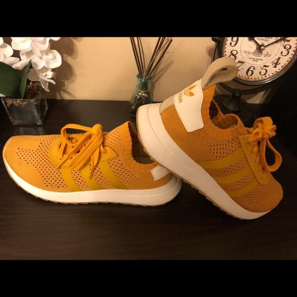 Adidas Flashback Primeknit Mustard
